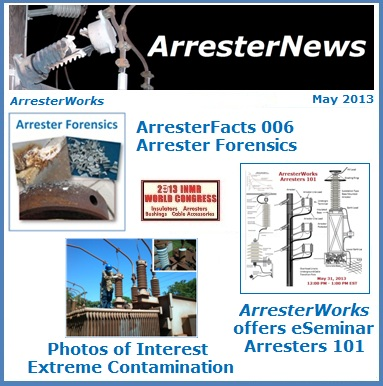 May 2013 ArresterNews Cover Thumb